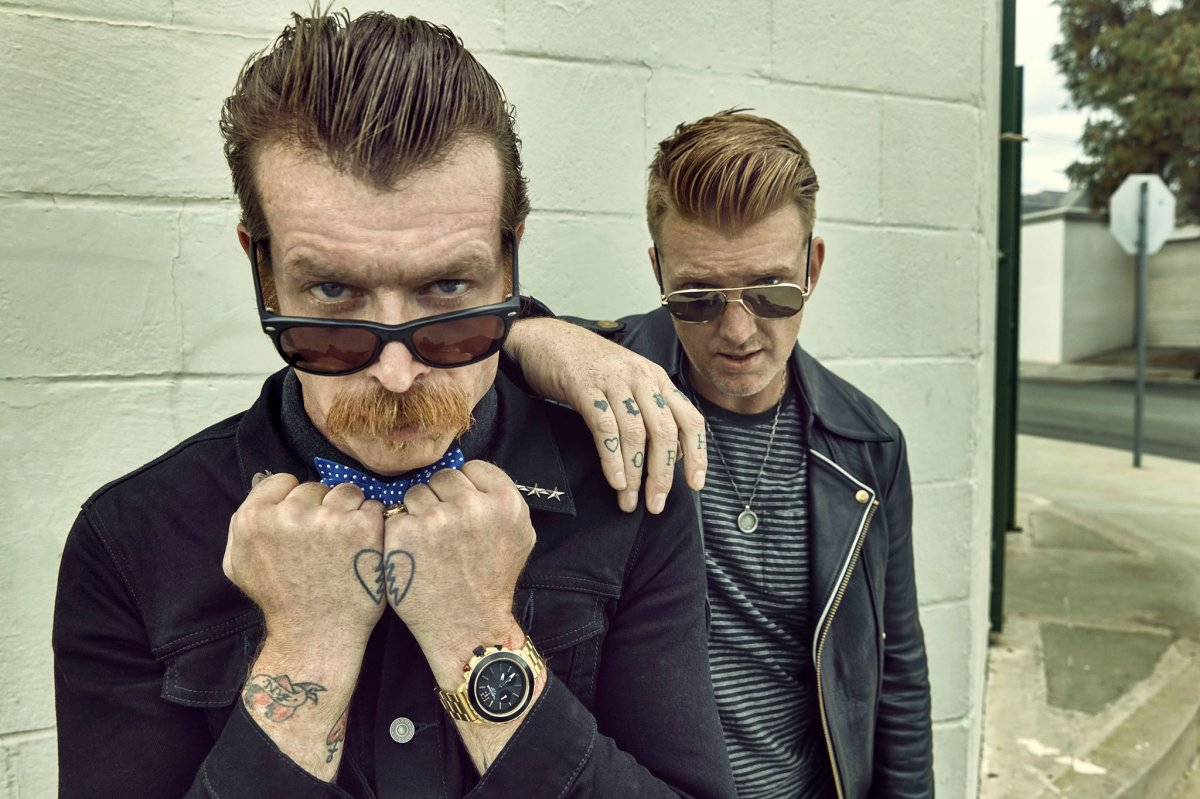 California rock band, Eagles of Death Metal are joining forces with Death From Above for a Canadian tour this spring.