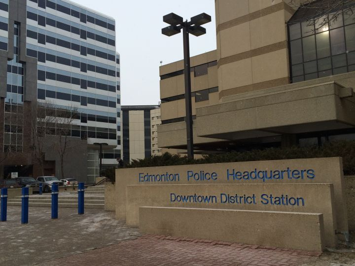 Edmonton Police Headquarters in downtown Edmonton.