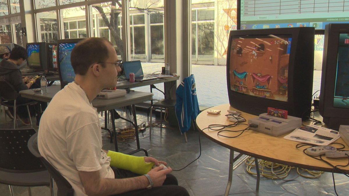 Retro-style video games made a comeback at a gaming competition in Edmonton over the weekend.