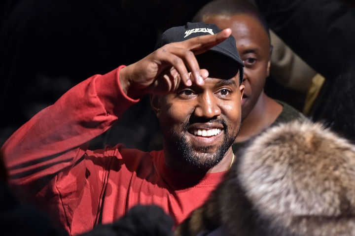 """Kanye West presents his Yeezy collection at Madison Square Garden during Fashion Week, Thursday, Feb. 11, 2016, in New York. West played songs from his latest album, """"The Life of Pablo,"""" out on Friday."""