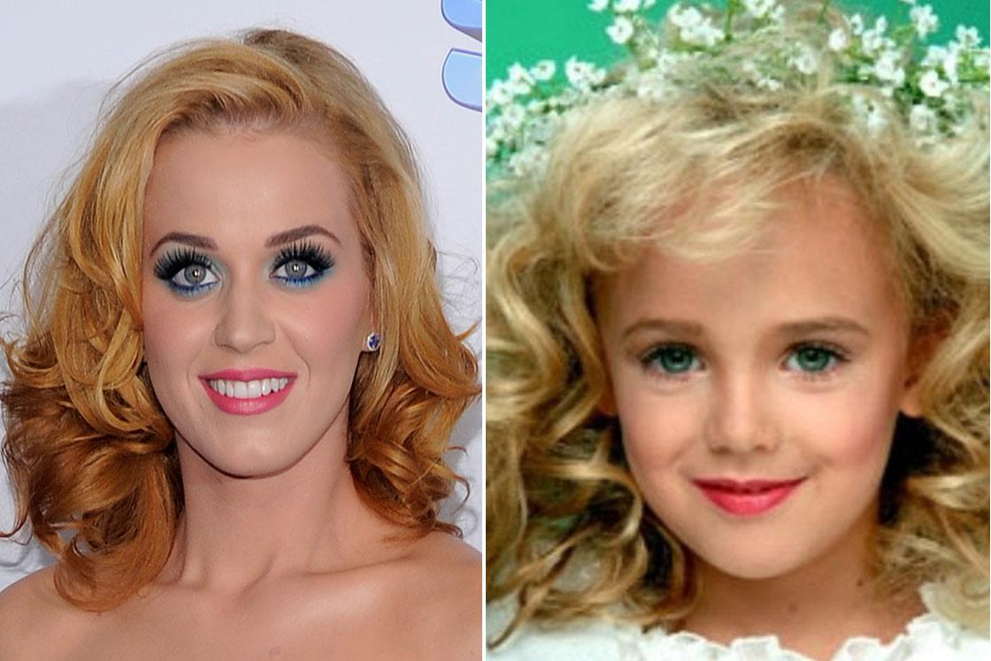 JonBenet Ramsay is Katy Perry