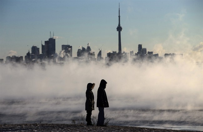 Toronto is set to see extreme cold temperatures starting at midday on Friday, according to the city's public health unit.