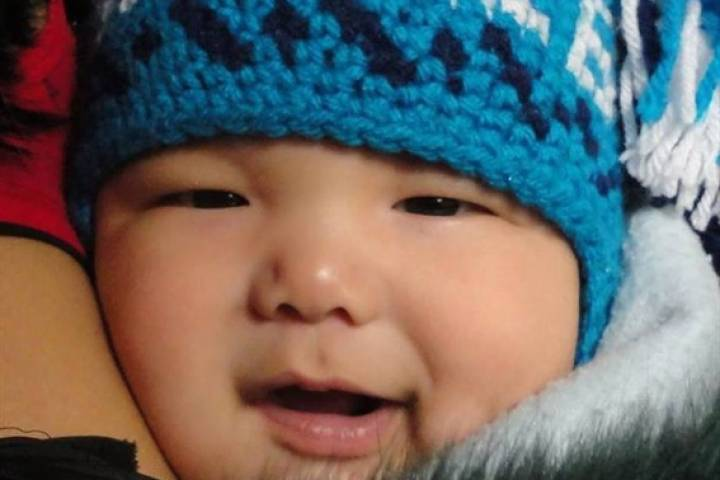 Three-month-old Makibi Timilak is shown in a  family handout photo. Nunavut has called an inquest into the murky circumstances surrounding the death of a three-month old boy in a remote arctic community.