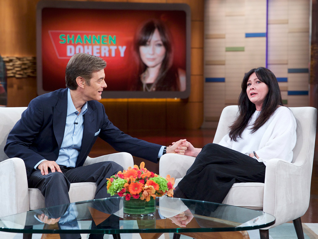 Shannen Doherty on 'Dr. Oz'