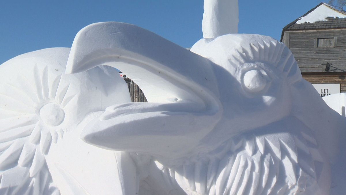 The International Snow Sculpture Symposium has been bringing artists from around the world together for 22 years.