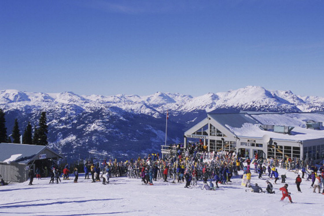 Whistler Blackcomb is enjoying a banner season thanks to lots of snow and a lower dollar.