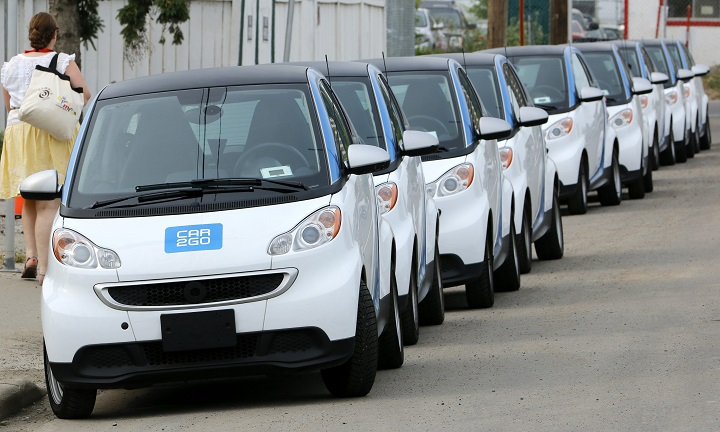 car2go says it will leave Toronto at the end of May.