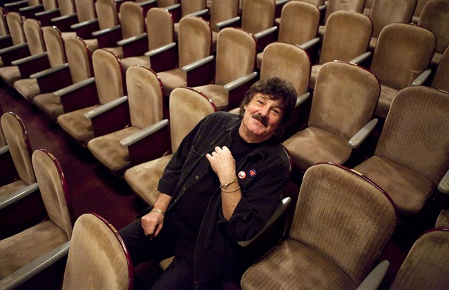 Burton Cummings poses for a photograph at Massey Hall in Toronto on Monday, Oct. 22, 2012.