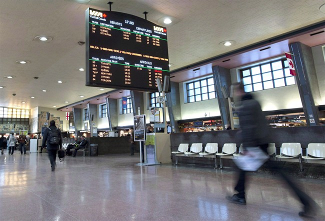 Multiple trains have been cancelled or delayed on the two train lines.
