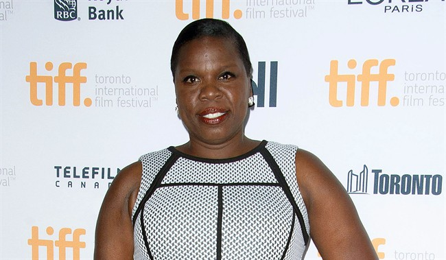 "Leslie Jones poses at the ""Top Five"" premiere at the Princess of Wales Theatre during the Toronto International Film Festival in Toronto."