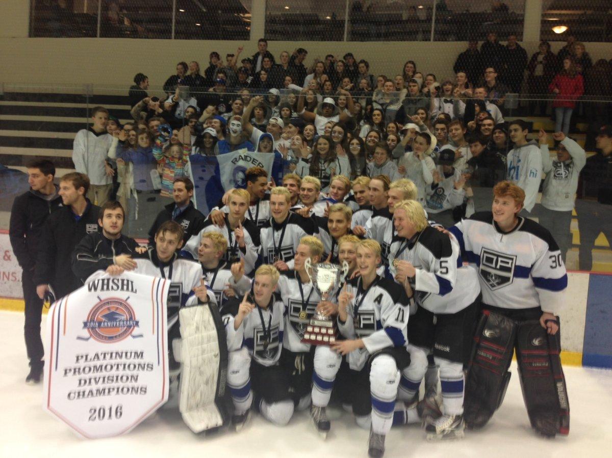 WATCH: Oak Park Raiders claim high school hockey crown - image