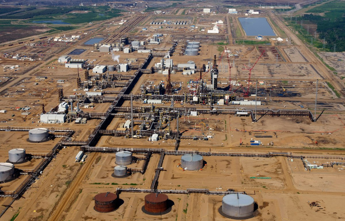 CNRL (Canadian Natural Resources Limited) Horizon oil sands upgrader near Fort McMurray, Alberta.