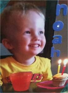Noah's Miles died suddenly in 2015 of an infection caused by a streptococcus bacteria.