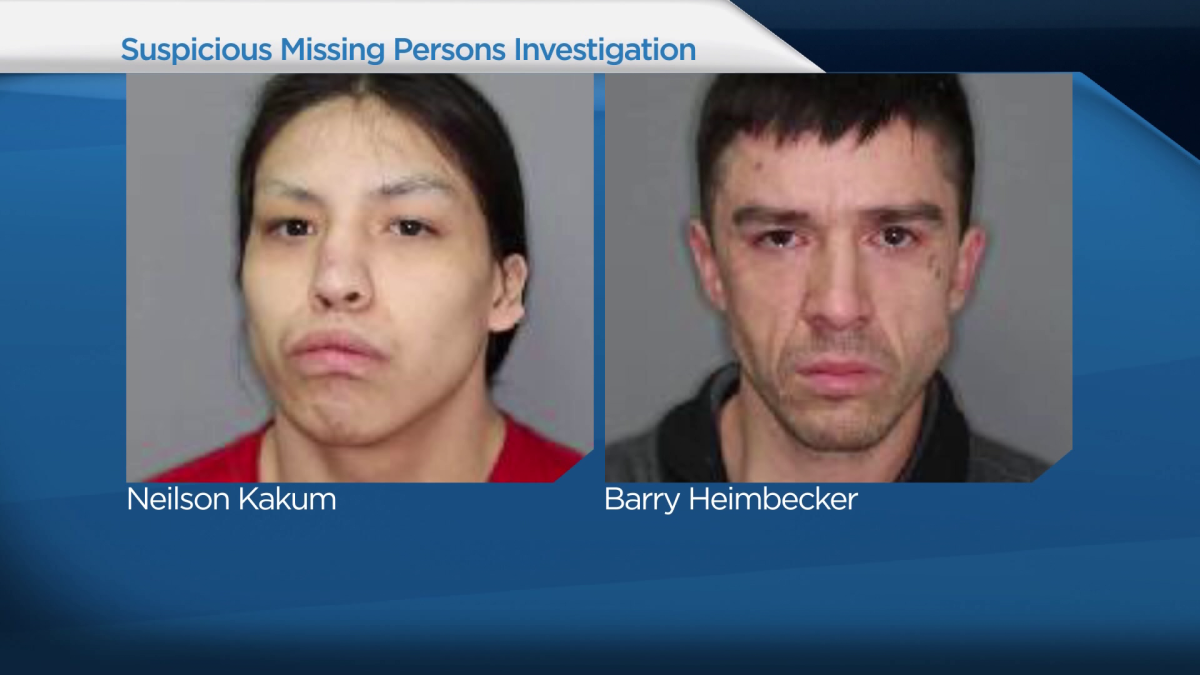 The search for Barry Heimbecker, a missing Saskatoon man with ties to street gang activity, continues.