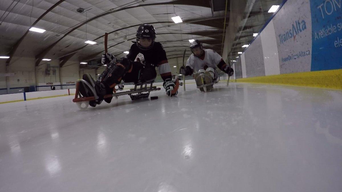 2016 Western Canadian Sledge Hockey Tournament .
