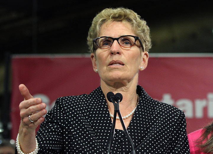 Premier Kathleen Wynne announced she is cancelling her future fundraising events.