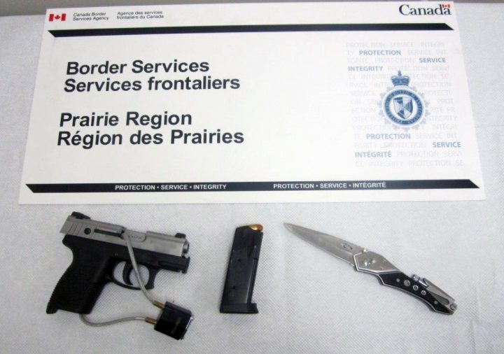 The Canadian Border Service Agency made a few major busts at the North Portal border crossing during the month of March.