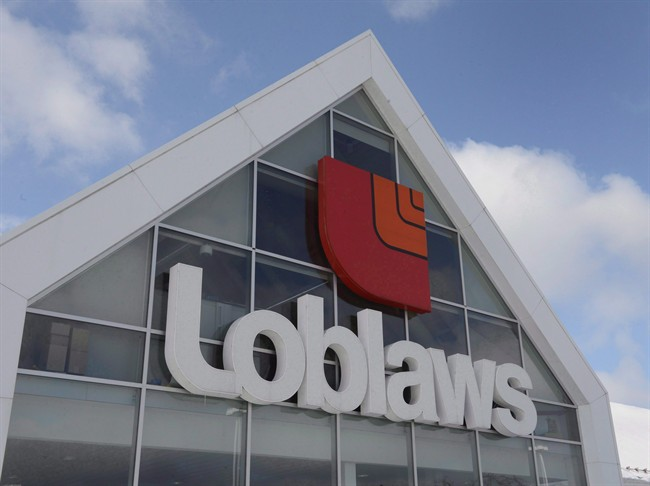 A Loblaws store is seen Monday, March 9, 2015 in Montreal.