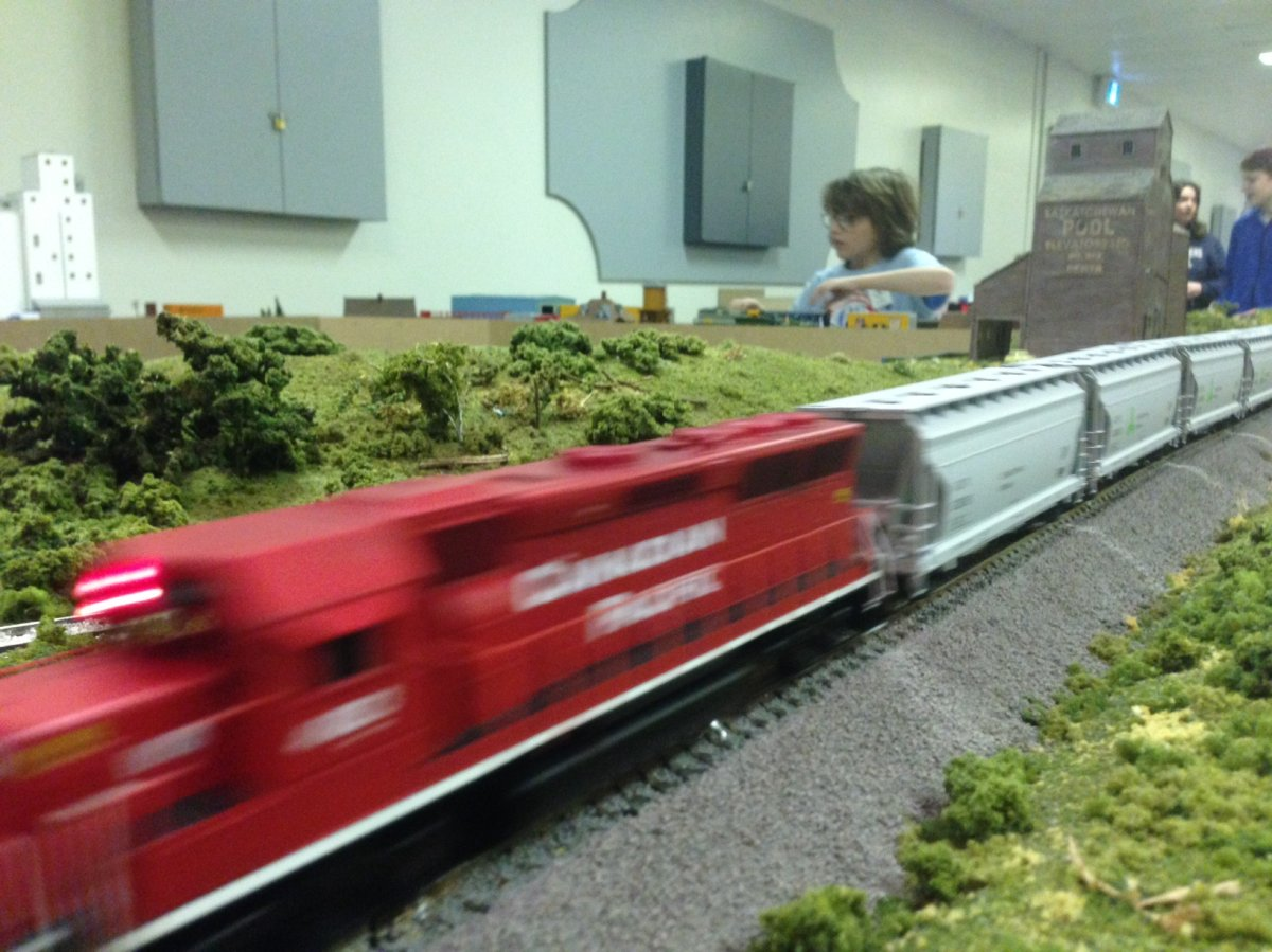 The Winnipeg Model Railroad Club is holding its annual open house and train show this weekend.