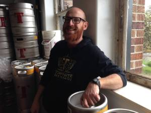 Cedric Dauchot, Brewing Engineer. Townsite Brewing.