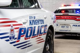 Continue reading: Police searching for suspect after vehicles damaged in downtown Kingston