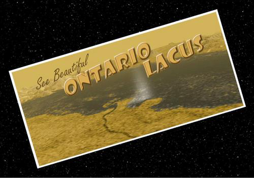 Visit Lake Ontario on Saturn's largest moon, Titan? No, thanks.
