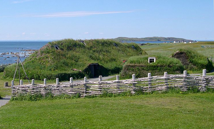 L'Anse aux Meadows, in Newfoundland, is the earliest Viking settlement known in North America.