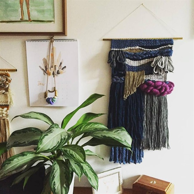 Amelia McDonell-Parry, a New York-based editor and writer, hasn't been weaving for very long but has fallen in love with the craft.