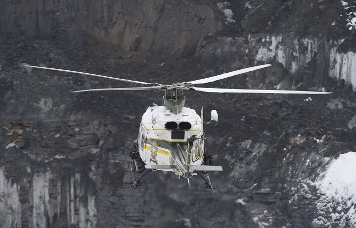 In this file photo,  an SQ helicopter goes on a rescue mission on Tuesday, Jan. 29, 2013.