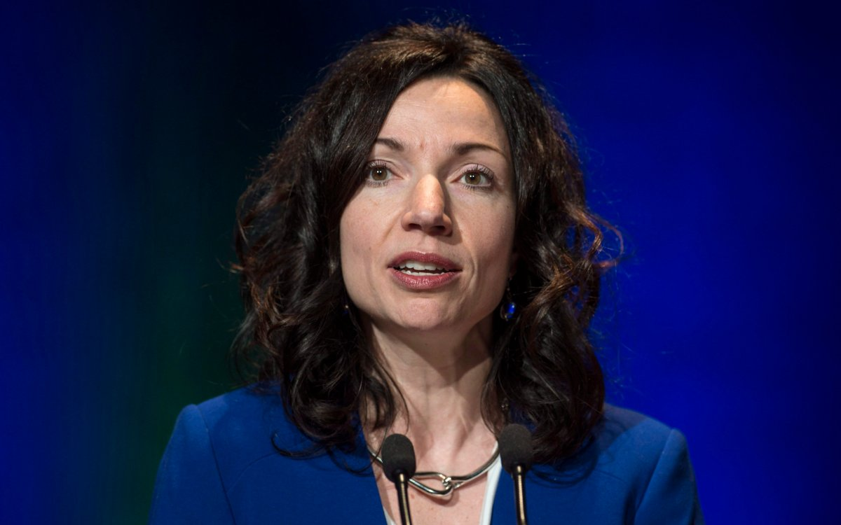 Martine Ouellet has announced that she will run for leadership of the Bloc Québécois, Sunday, February, 5, 2017.