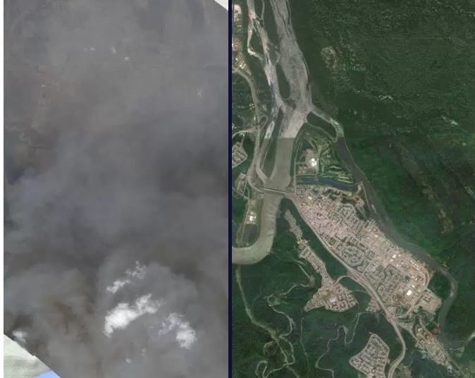 Before and after: Wildfire engulfs Fort McMurray - image