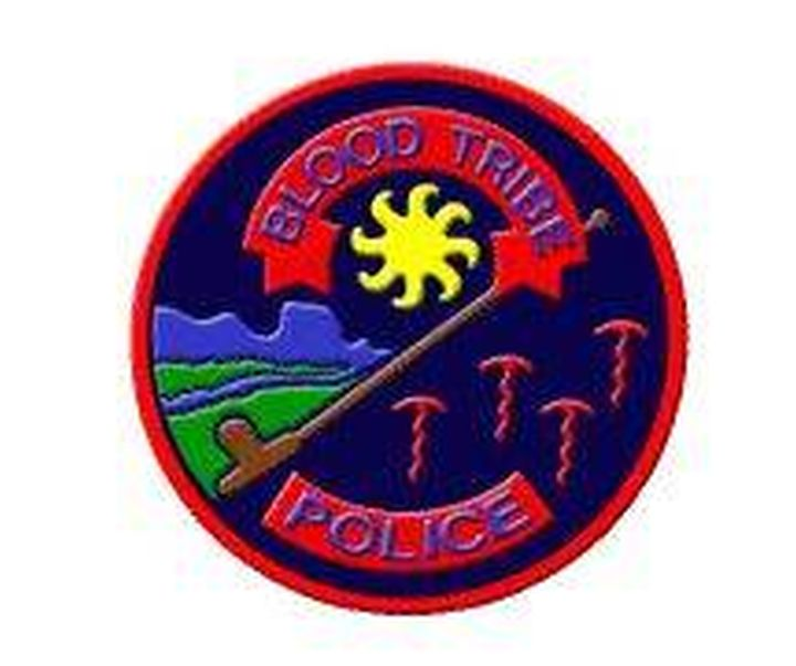 A file photo of the Blood Tribe Police Service logo.