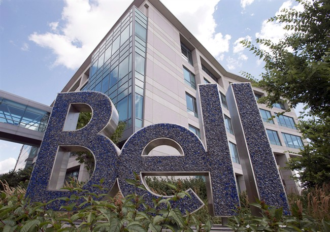 Bell Canada head office is seen on Nun's Island, in Montreal, in an August 5, 2015, file photo.
