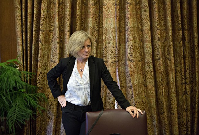 Alberta Premier Rachel Notley may have some tough decisions ahead of her.