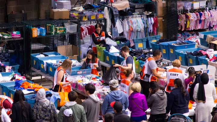 The Edmonton Emergency Relief Services Society will open a new 71,200 square-foot warehouse on Saturday at 3870-98 Street.