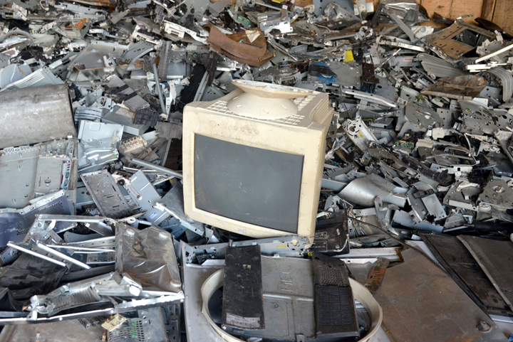 There has been a sharp increase in electronic waste in Canada, though there has also been an increase in waste diversion.
