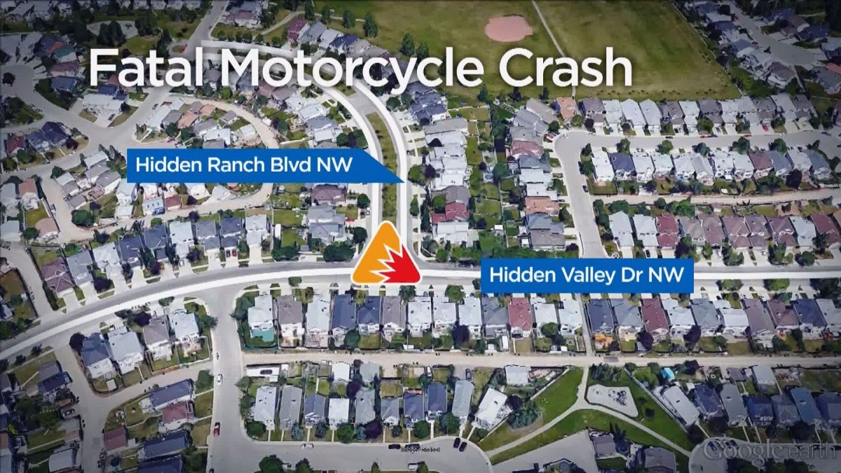 Emergency Crews were called to a motorcycle crash in the intersection of Hidden Ranch Boulevard N.W. and Hidden Valley Drive N.W. on Monday, May 30, 2016.