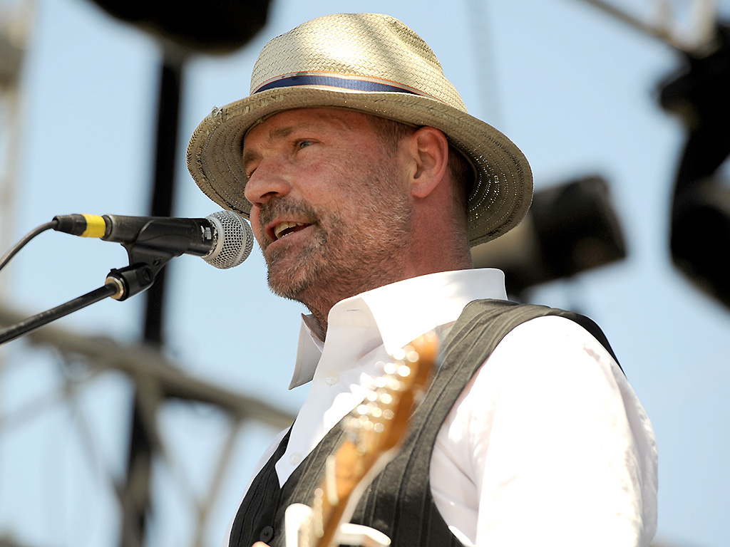 Gord Downie performs during Day 3 of the Coachella Valley Music & Arts Festival on April 17, 2011.