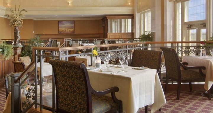 The Harvest Room at the Fairmont Hotel MacDonald.