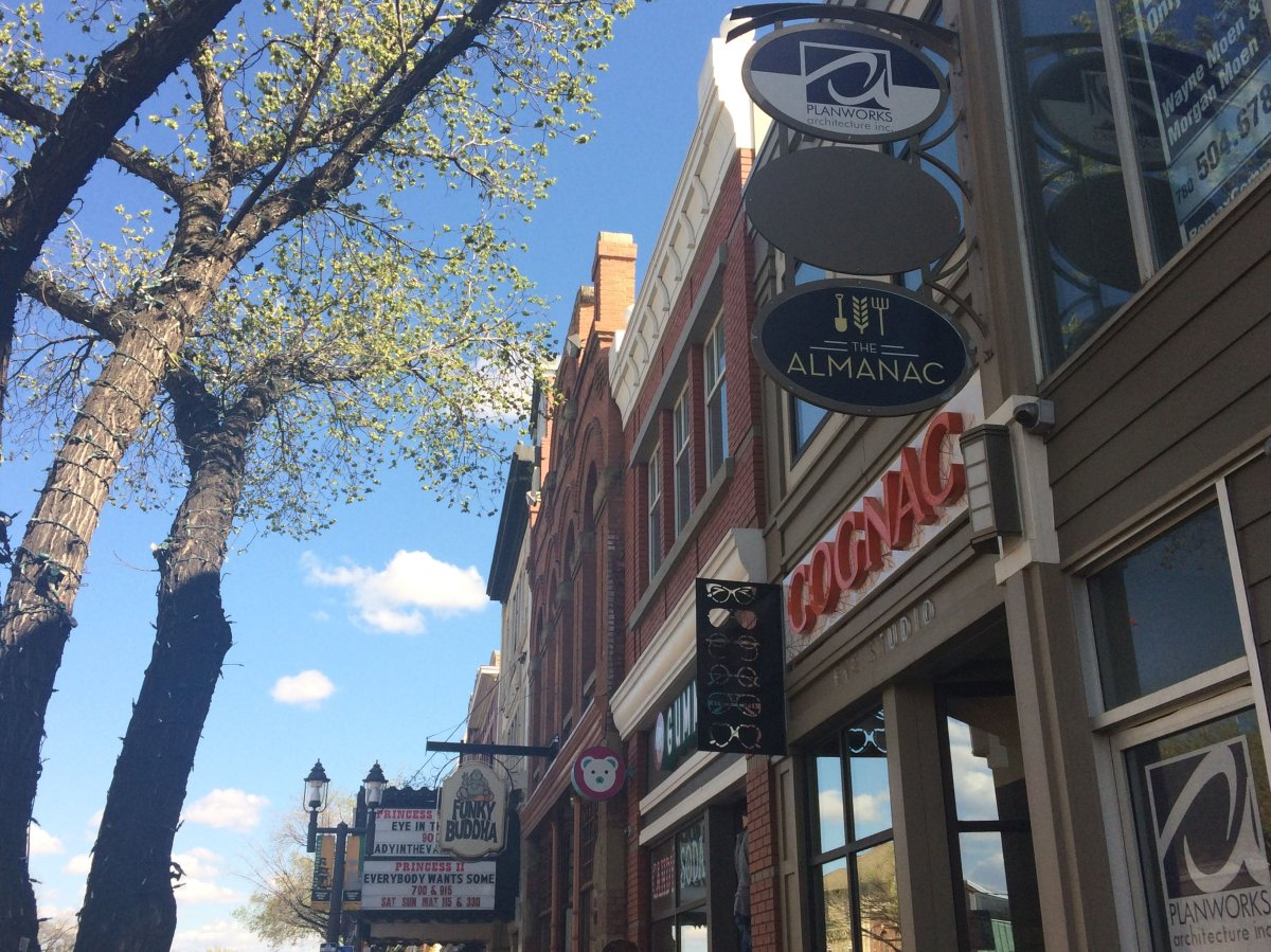 More than 600 businesses call Old Strathcona home.