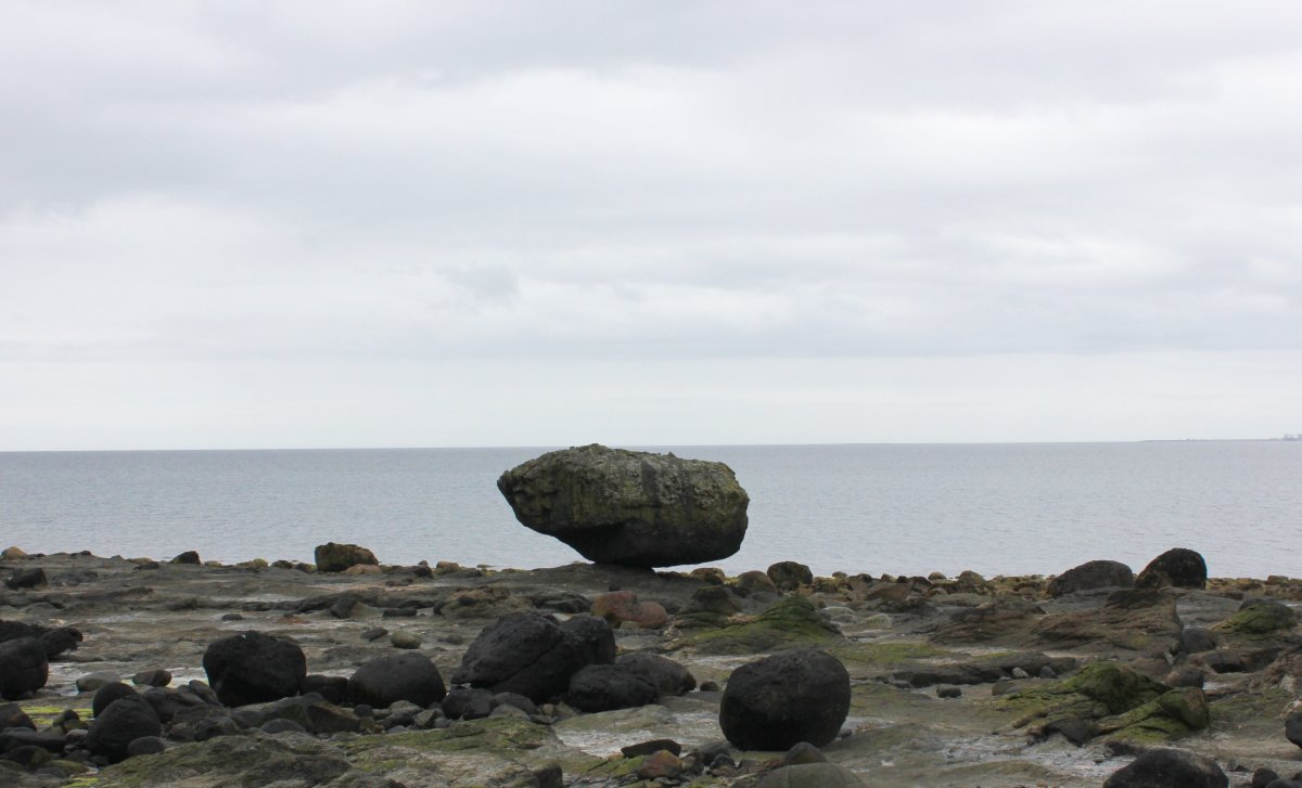 The famous Balance Rock is a popular nature-made landmark in Skidegate, Haida Gwaii, but how did it get there and how is it still balancing?.