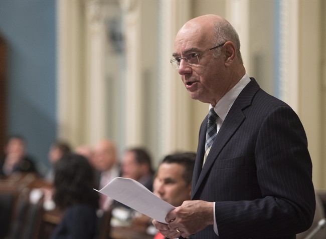 Quebec Transport Minister Jacques Daoust's resignation prompted a cabinet shuffle on Saturday, August 20, 2016.