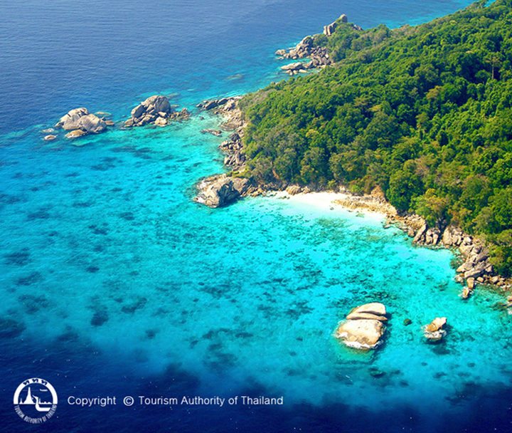 The island, located in Thailand's Ranong Province, has become a tourism hot spot thanks to its incredibly blue waters, coral reef and impressive wildlife.