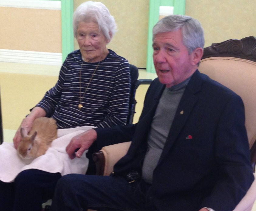 Seniors at York Care Centre in Fredericton are among the first to take part in the program to reduce antipsychotic drug use.