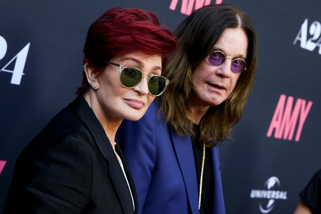 Sharon and Ozzy Osbourne  broke up in May.
