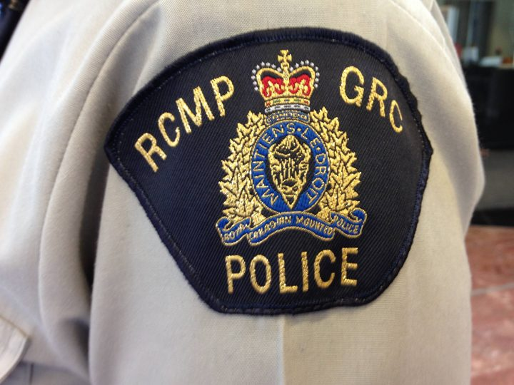 A file photo of a RCMP badge.