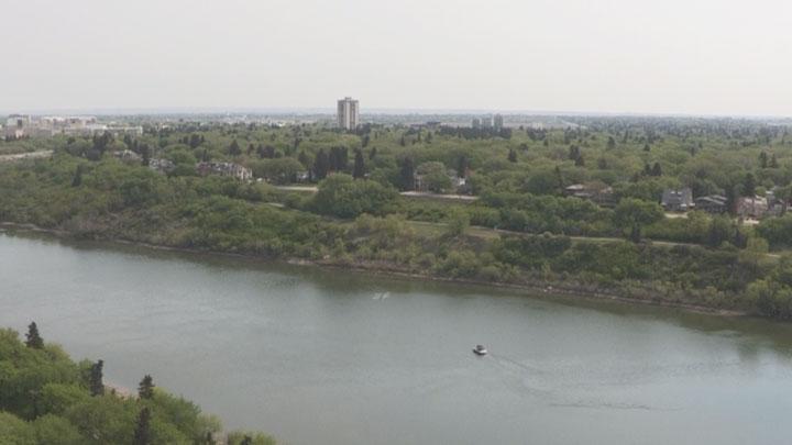 Wildfire poor air quality Saskatoon, Sask