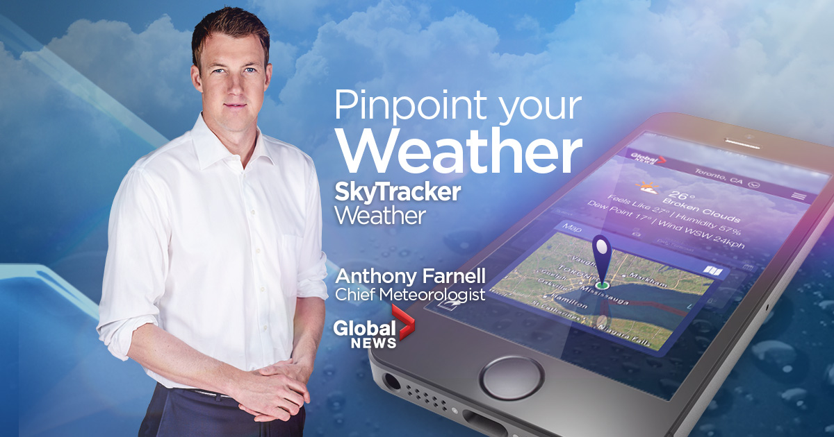 Download Global News' new Skytracker weather app for IOS and Android - image