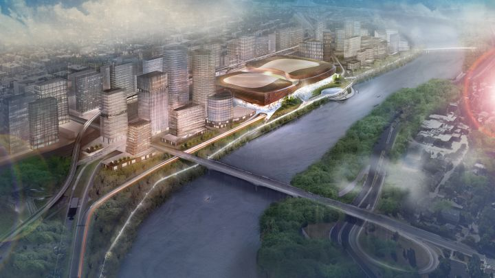 Drawing of proposed CalgaryNEXT project.