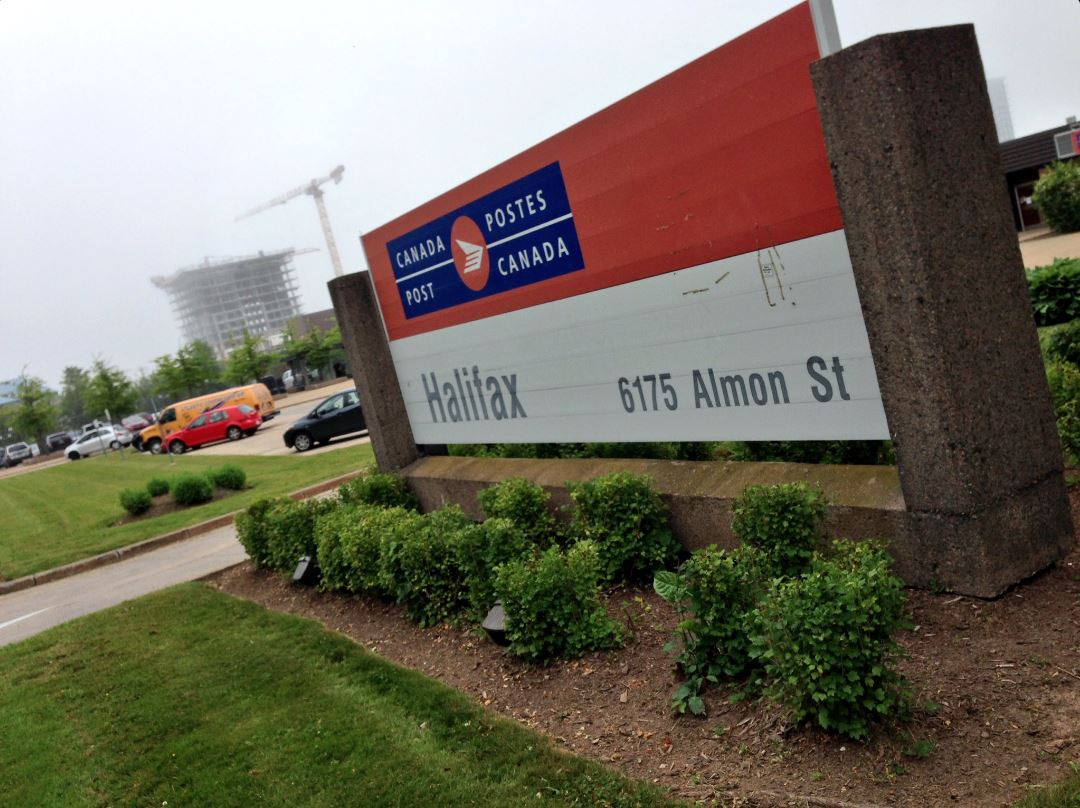 Unionized postal workers in the Halifax Regional Municipality have gone on strike, occupying processing facilities in both Halifax and Dartmouth on Monday.
